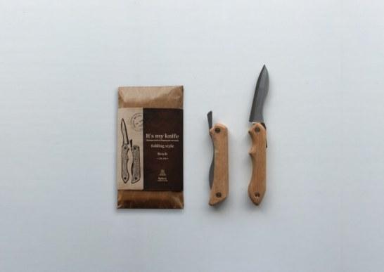 ナイフキット『It's my knife folding style』 - 神沢鉄工