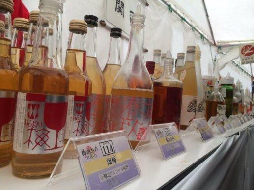 正統派の梅酒をはじめ、日本酒ベースの梅酒、抹茶や、唐辛子、イチゴやマンゴーの梅酒など多種多様170種以上!