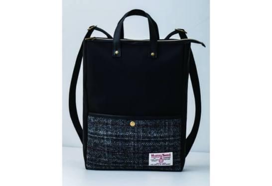 Harris Tweed 2WAY Backpack Book - 宝島社