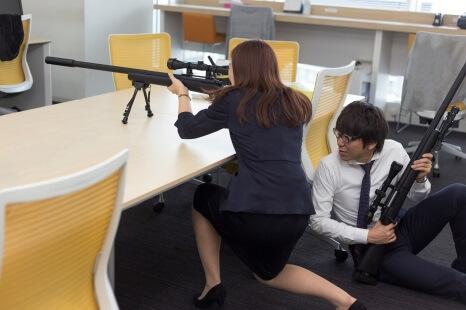 M24スナイパーライフル風赤外線銃 - ドワンゴ