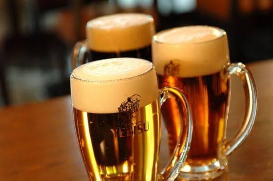 終日ヱビス生ビール全品半額 - 2月25日はヱビスビール誕生の日