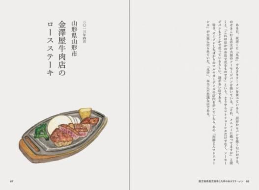 山形県山形市 金澤屋牛肉店の ロースステーキ