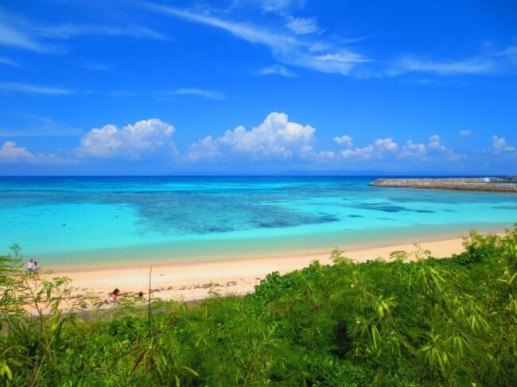 『ニシ浜ビーチ』(沖縄県 波照間島)