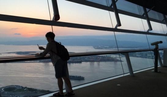 大阪府 咲洲庁舎展望台 (大阪府 大阪市)