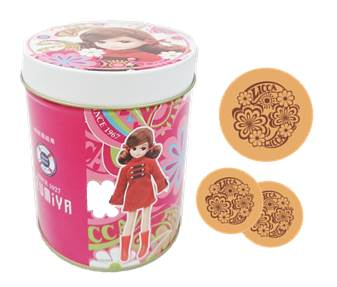 クッキー缶 864円(税込)