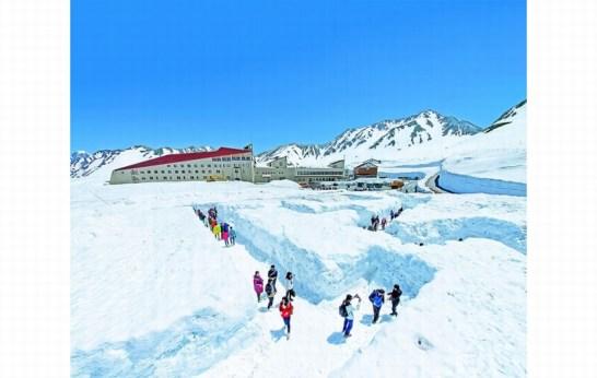 雪の迷路 Snow maze