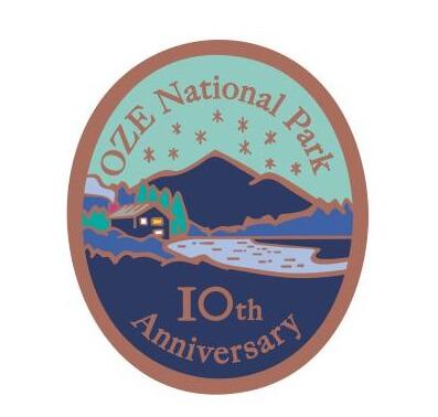 「尾瀬国立公園10周年記念」特製ピンズ(デザイン)