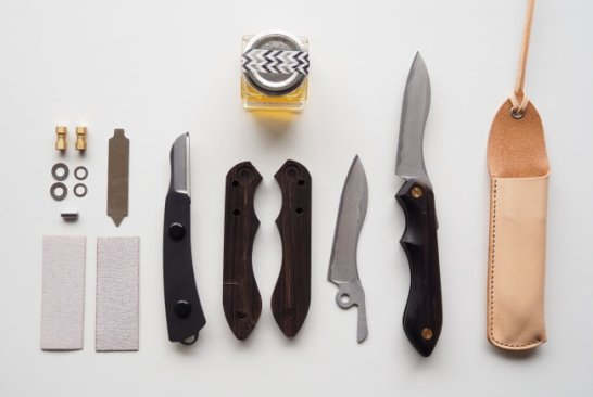 It's my knife folding 最高級プレミアムモデル