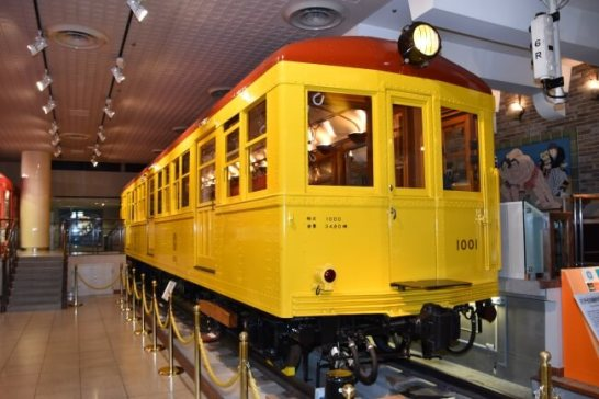 「日本初の地下鉄車両1001号車」が国の重要文化財に指定されました!