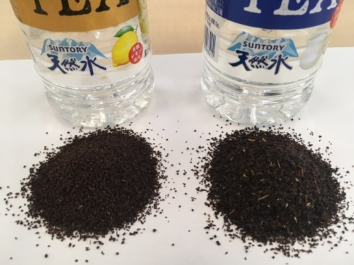 実は、レモンとミルクで使っている茶葉が違う!
