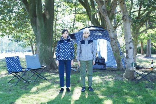 """THE NORTH FACE × minä perhonen  人気のコラボレーションが""""キャンプ""""をテーマとした2018年春夏の新コレクションを展開"""