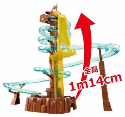 【ポイント3】 高さもより高みへ! 1m14cmの大タワーに!