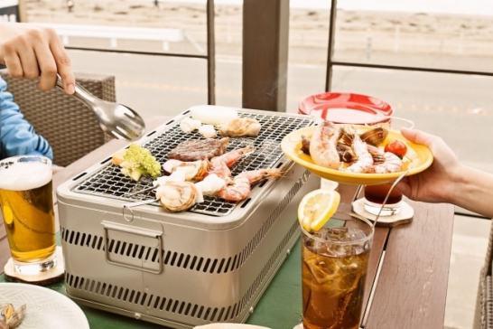 海沿いの キコリ食堂 - BBQ プラン登場