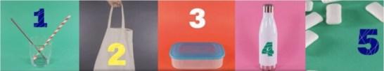 動画より抜粋:プラスチック廃棄物を減らす5つのステップ