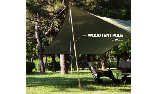 FIELDOOR の木製テントポールが新登場!