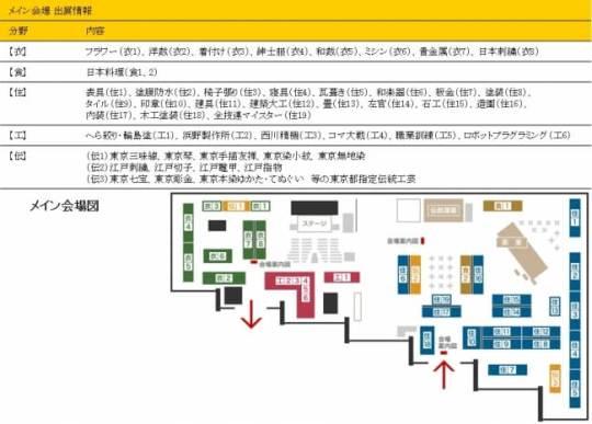 メイン会場(ホールE 地下2階)