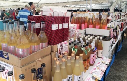 お気に入りの梅酒が購入できる「梅酒即売会」も同時開催!※人気梅酒は売り切れになる場合もある。