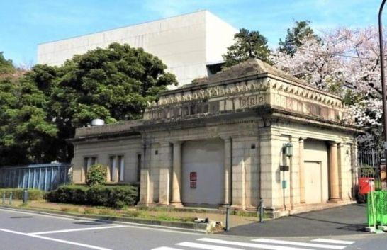 旧博物館動物園駅外観