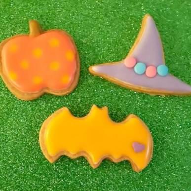 魔女クッキー作り