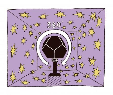 大人気で予約殺到中! 60万部超のベストセラー「大人の科学マガジン」のプラネタリウムがついに復刻!