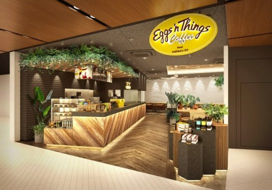 Eggs 'n Things Coffee 国内2号店目が千葉県柏市に登場!