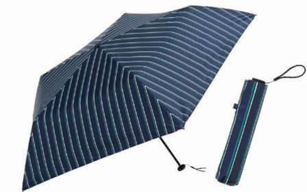 晴雨兼用折りたたみ傘 PUスーパーライト