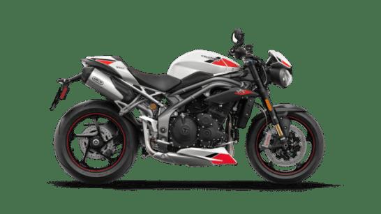 Speed Triple - クリスタルホワイト レッドブラックデカール付