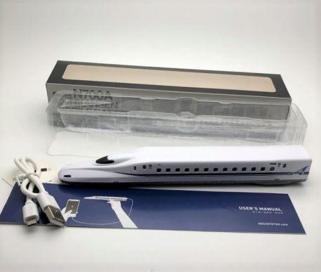N700系新幹線型モバイルバッテリー「もちてつ」