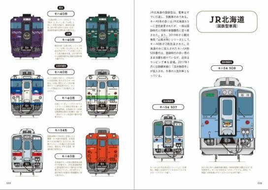旅鉄BOOKSシリーズ第23弾『電車の顔図鑑4 ローカル線の鉄道車両』