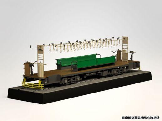 「東京都電6000形6152号車」を1/24スケールでプラスチックモデル化