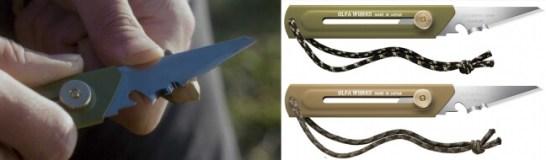 替刃式ブッシュクラフトナイフ BK1