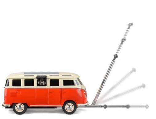 VW T1バスの大型クーラーボックス