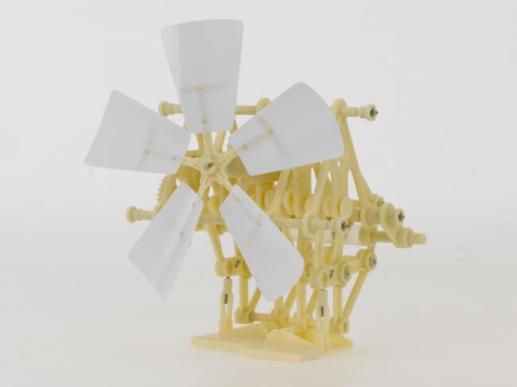 テオ・ヤンセン式 二足歩行ロボット