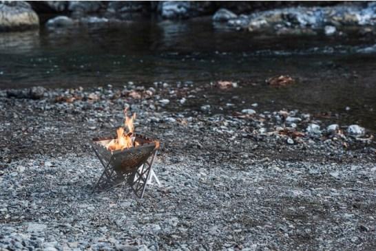 焚き火台|パズルのように変形可能焚き火台|パズルのように変形可能