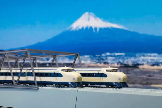 【京商エッグ】リビングトレイン&BOOKシリーズ 東海道新幹線 0系・N700S発売!