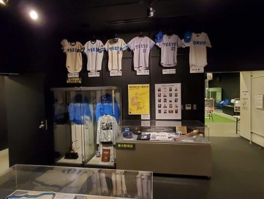 東大野球部に関する展示
