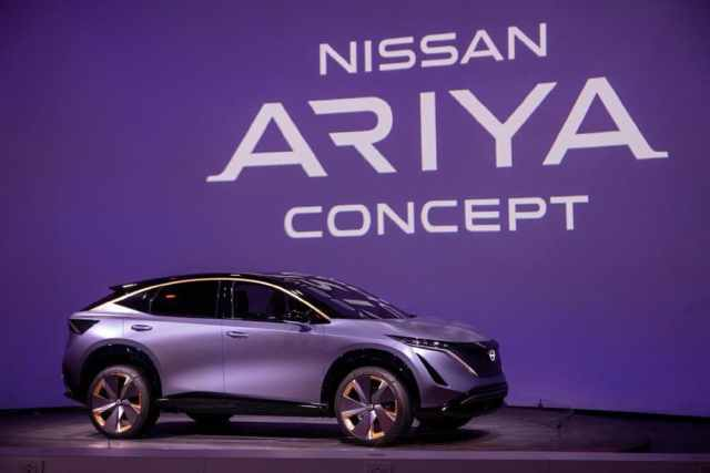 Имя нового электромобиля Nissan Ariya запатентовано в России
