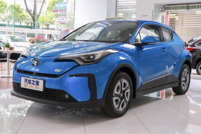 Toyota C-HR Electric появится на китайском рынке