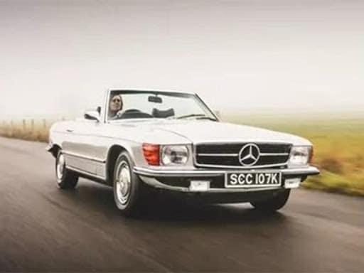 Mercedes-Benz 350 SL сделали электромобилем