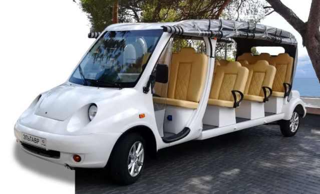 Наращивание производства электромобилей в Крыму