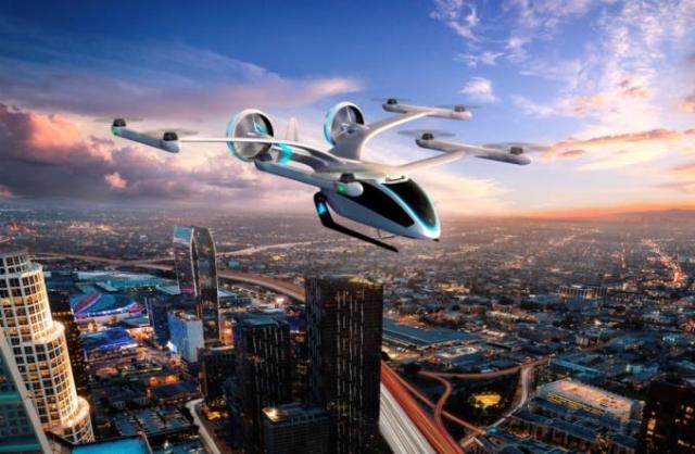 «Два в одном» из Бразилии: концепт аэротакси-электрокара