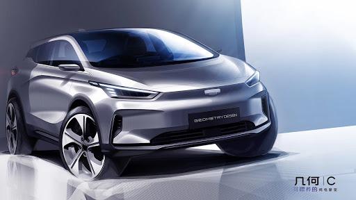 Geely выпускает новый электромобиль