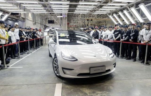 Компания Tesla получила разрешение на выпуск в Китае электромобилей Model 3 с установкой в них батарей LFP