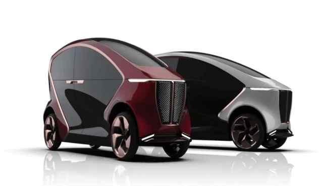 Премиальный электрический ситикар LUV появится в 2021 году