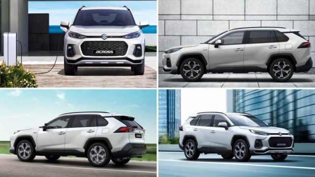 Toyota и Suzuki выпустили совместный плагин-гибрид (видео)