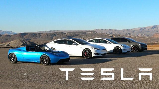Свежие новости про электромобили Tesla