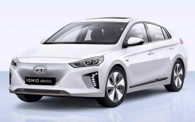 Hyundai Ionic Electric дружит с природой и пассажирами