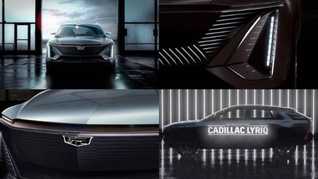 Премьера от General Motors: кроссовер Cadillac LYRIQ