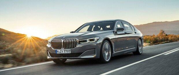 Линейку BMW 7 серии пополнит электромобиль