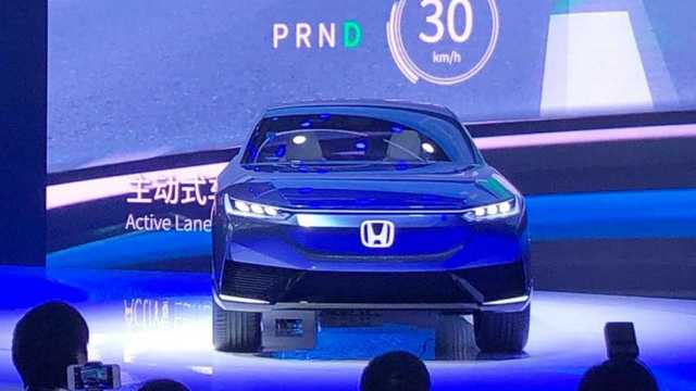 Электромобиль Honda SUV e concept